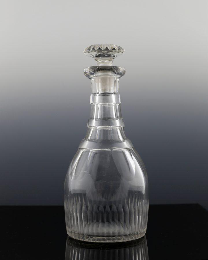 Regency Fluted Half Bottle Decanter